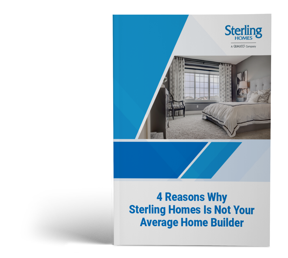 4 Reasons Why Sterling Homes is Not Your Average Home Builder cover image