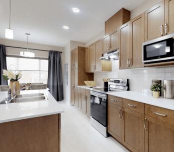 17 Excellent Edmonton Communities to Explore Deville Kitchen Image