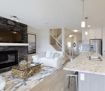 17 Excellent Edmonton Communities to Explore Trista Great Room Image